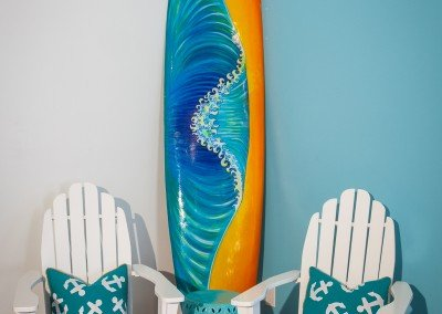 Huntington Breakers surf board
