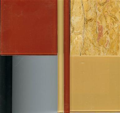 Samples of tile & stone used.