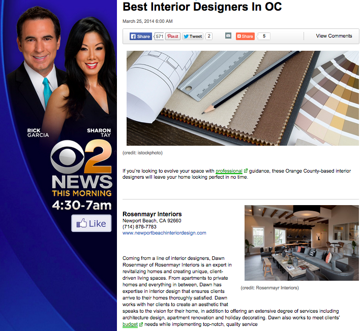 Best Interior Designers In OC